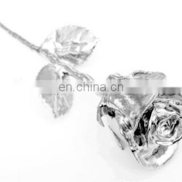 Sliver Plated Natural Rose