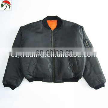 High quality men pilot military flight jacket ma1 army bomber ma-1