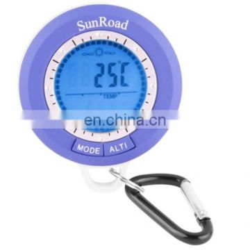8 in 1 (Altimeter, Altitude Record / Setting, Barometer, Digital Compass, Thermometer, Weather forecast, Time, Backlight