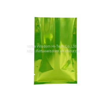 high quality eco friendly plastic three side seal vacuum pouch aluminum foil food grade dried bean packaging bag