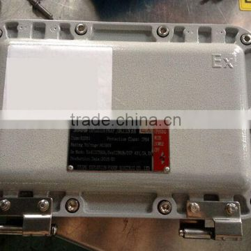 BJX51 IP65 steel material flame proof junction box