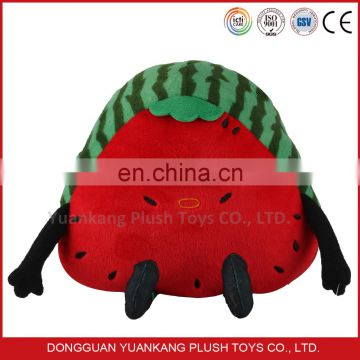custom stuffed vegetable and fruit shaped toys