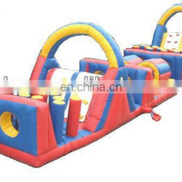 obstacle course,inflatables,outdoor inflatable games OT018