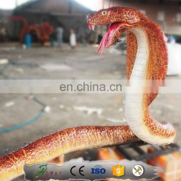 Kawah theme park decoration Animal realistic rubber snake