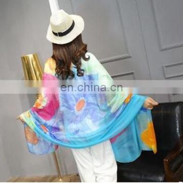 2018 Summer Explosion of the Europe of large Size Silk Scarf Shawl