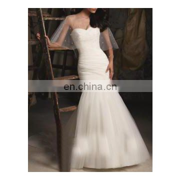 white evening gown fairytale flutter new bridal gown 2016