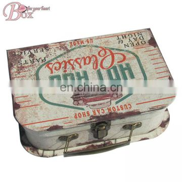Vintage Cardboard Suitcase Box Set