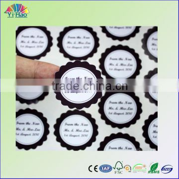 print self- adhesive label, sticker label , adhesive label , non-setting adhesive label