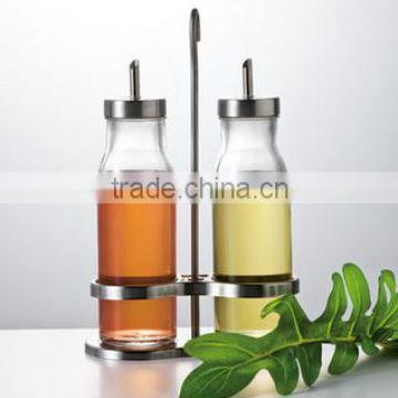 Clear Glass Beverage/Sauce Bottles