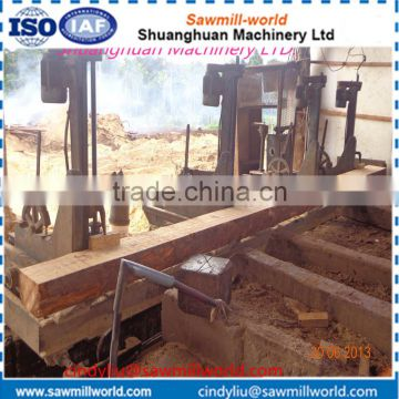 Heavy duty vertical wood band saws sawmill logs ctting machine