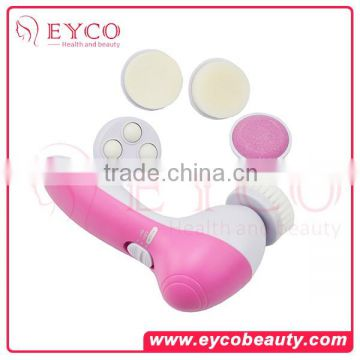 Multifunctional Ultrasonic Foundation Make Up Cleaner Face Brush, Single Piece Makeup Brush for Wholesale
