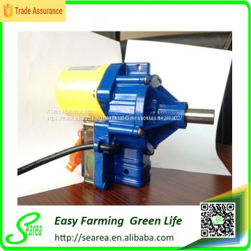 Greenhouse wind up motor Roll Up film Motor