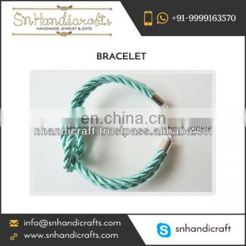 2017 Hot Selling Silk Rope Bracelets at Nominal Cost