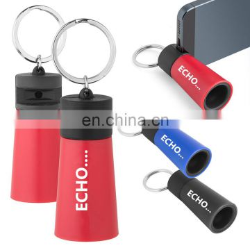promotion echo pocket boombox phone stand keychain