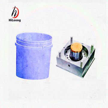 plastic bucket mold made in china huangyan mold factory