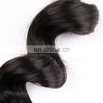 Cuticle Aligned Brazilian Raw hair extension loose wave humen hair