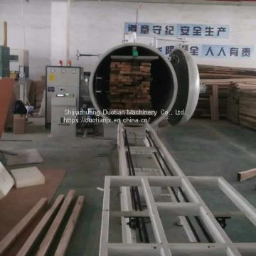 Radio Frequency Vacuum Wood Drying Room From Duotian