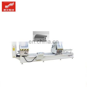 Two-head miter cutting saw for sale Industrial aluminum profile processing machine from China