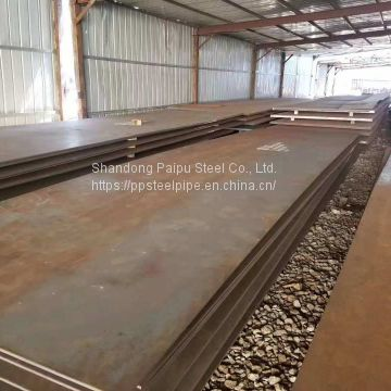 Hot Rolled Mn13 High Ah36 Mild Steel High Wear Resistant Steel