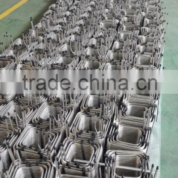 8mm stainless steel bend pipe coil tube/coil pipe