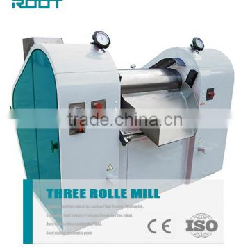 RT-S series manual and hydraulic 3-roller mill for paint grinding