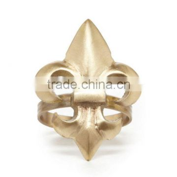 gold plated wedding napkin ring for sale