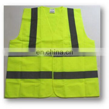 OEM high visibility reflective reflective safety vest
