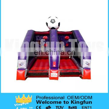Inflatable football toss games/soccer throwing goal sports