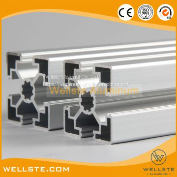 6060 Series Aluminum T Slot Extruded Profile for Curing Cabinet