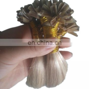 Wholesale piano color brazilian u tip hair