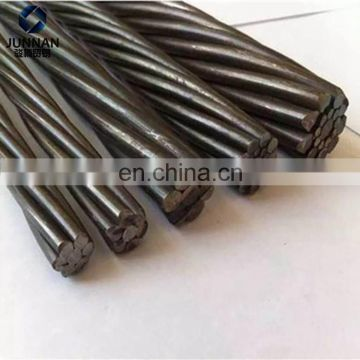 BS5896 7 wire 12.7mm 9.53mm pc steel wire strand price