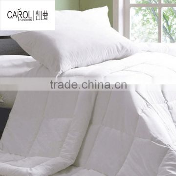 hotel sofe polyester duvet microfiber bed duvet hotel quilt China supplier