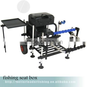 140*116*76cm leather fishing seat box made in China