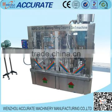 automatic cider wine bottling machine