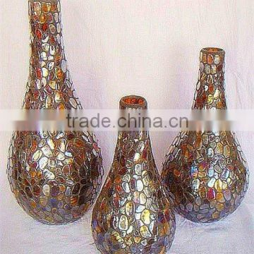 2017 most popular Decorative tall mosaic vases