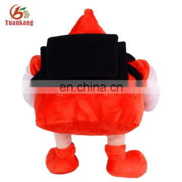 ICTI factory big head plush soft cartoon toy