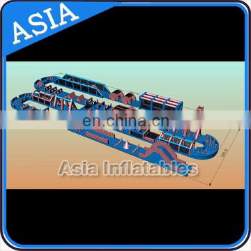 Factory outlet commercial grade outdoor inflatable obstacle course equipment for kids