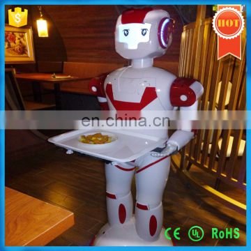 2016 Hot Sell 3rd Generation Intelligent Humanoid Robot Waiter For Restaurant And coffer house,Factory Price