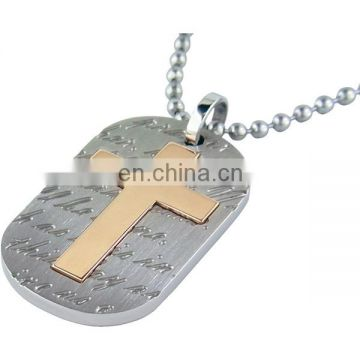 metal custom christian dog tags