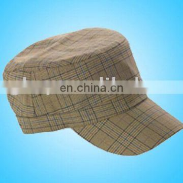 eb490852c4d Military Check Pattern Cadet Cap Army Fashion hat caps of military hat   army  hat from China Suppliers - 158616592