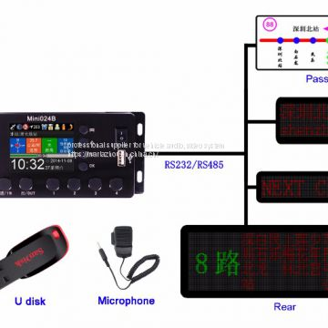 2019 bus gps auto announcer system from ShenZhen  tamotec