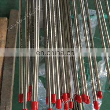 Tubes AISI 321 seamless annealed 5*0.5 5*1.5