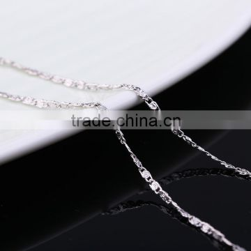 fashion new product jewellery rhodium plated trendy delicate necklace jewelry accessories