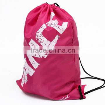 D006183 Foldable pe drawstring bags backpack ballet dance garment bags for children and women