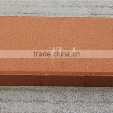 Red color decorative garden brick standard size of fire brick for heating furnace