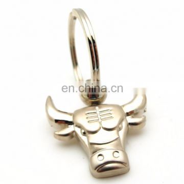 25 Experience Years OEM Wholesale SILVER Souvenir Animal METAL KEY CHAIN