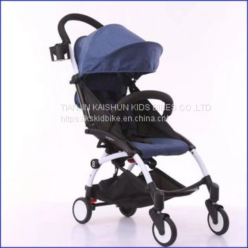 2018 fashionable foldable aluminum baby carriage stroller /baby trolleys