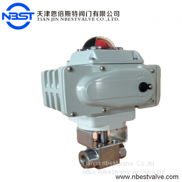 Motorized Stainless Steel High Pressure DN15 Ball Valve Stainless Steel Ball Valve