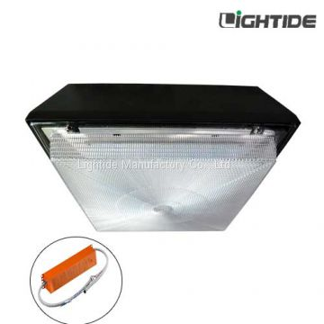 60W DLC Premium Emergency Lights LED Canopy , 100-277vac, Ni-MH battery and 90~180 minutes