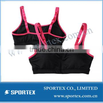 Functional Xiamen Sportex adjustale bra, adjustable ladies bra, adjustable bra top OEM#13112